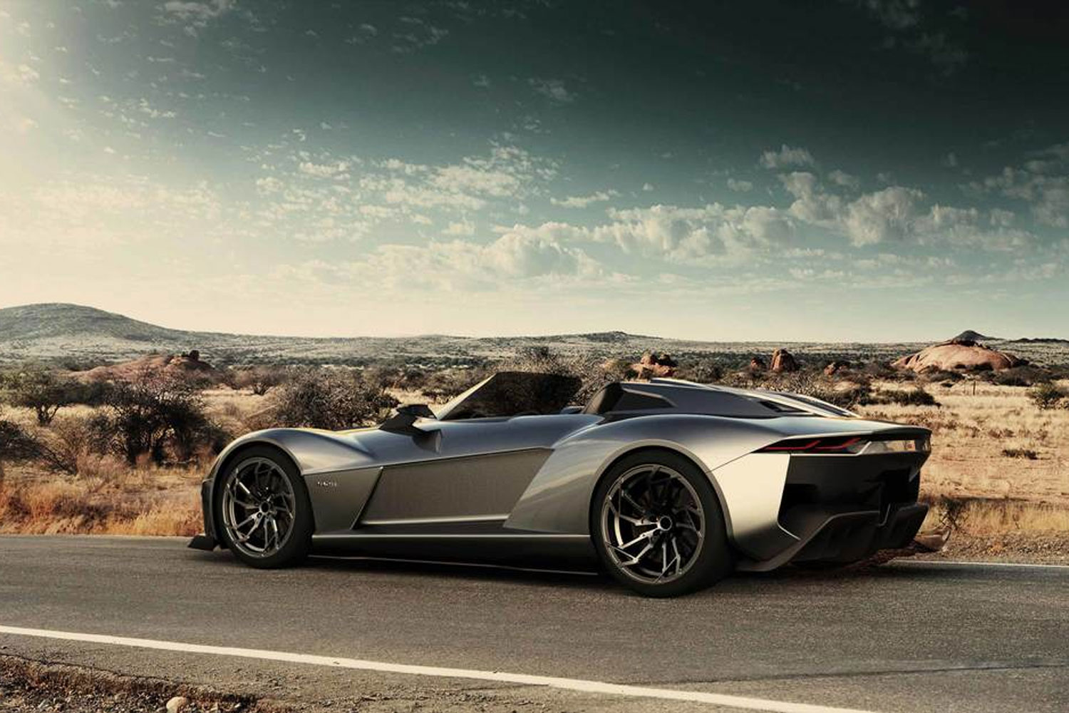 Rezvani Beast Rear Side View Parked1